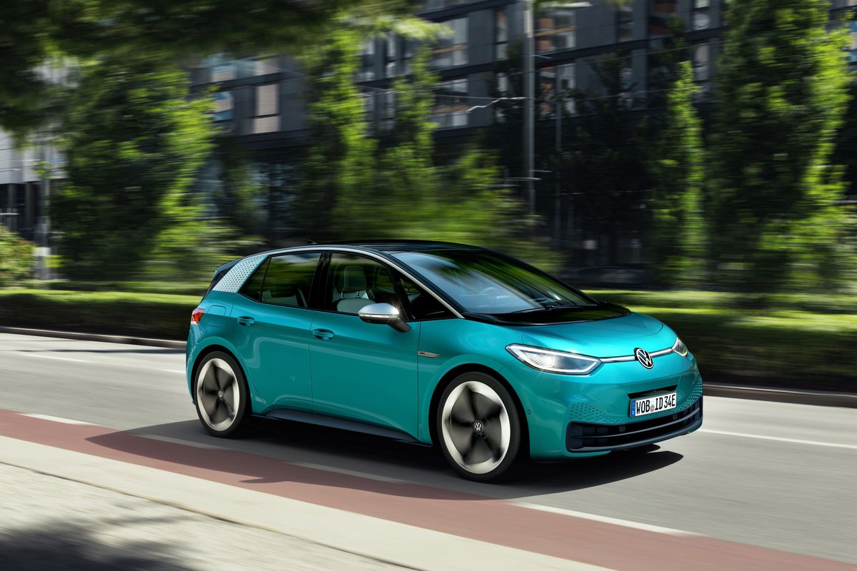 Volkswagen Unveils The Id 3 Its First Electric Car For The