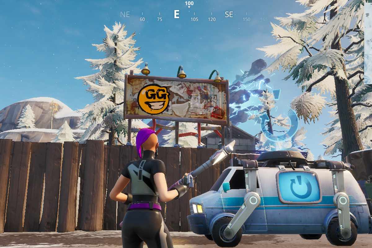 Fortnite graffiti billboards guide and map - Polygon