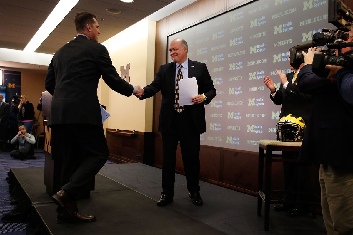 University of Michigan Introduces Jim Harbaugh