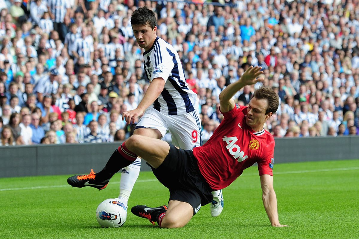 Didn't work out too shabby for Jonny Evans