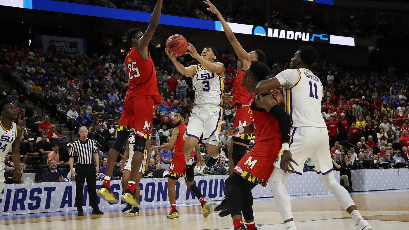 LSU's Tight Win Against Maryland Is the Game of the Tournament, So Far