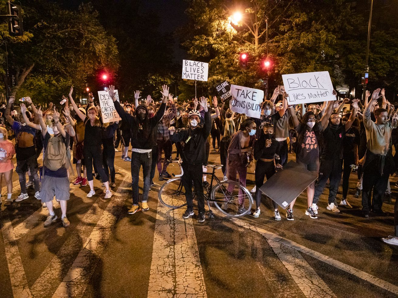 D.C. Black Lives Matter protest
