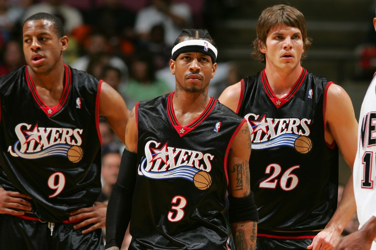 Two of these guys are in the playoffs right now. And then there's Allen Iverson.
