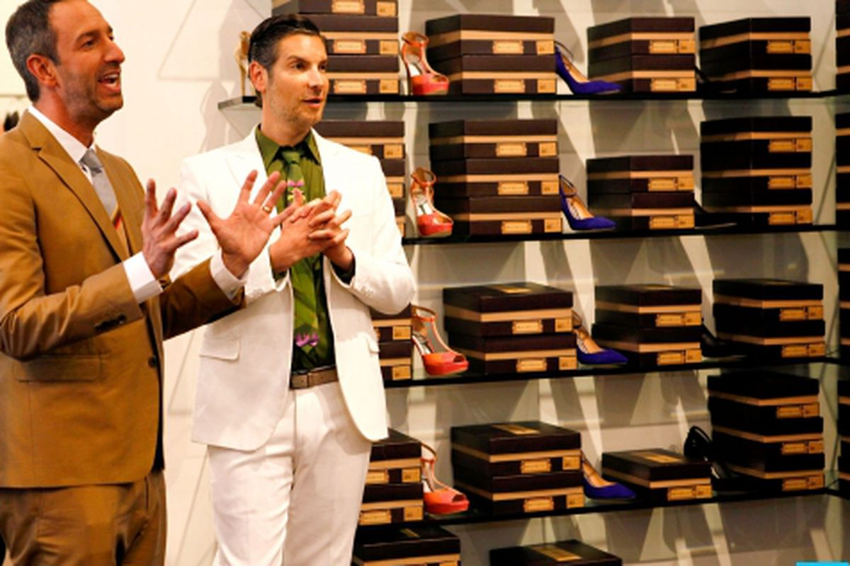 Cameron and Christos. Images via Bravo.
