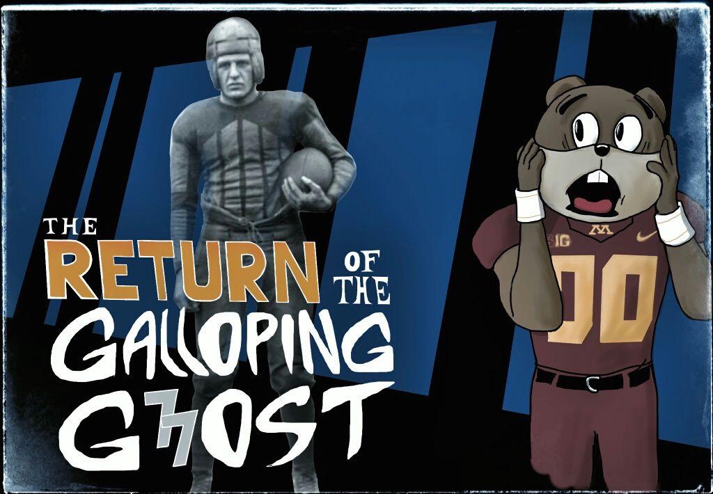 Illinois/Minnesota Game Poster