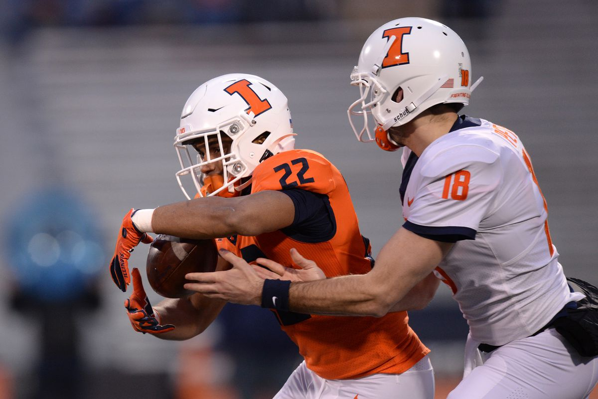 COLLEGE FOOTBALL: APR 19 Orange and Blue Spring Game