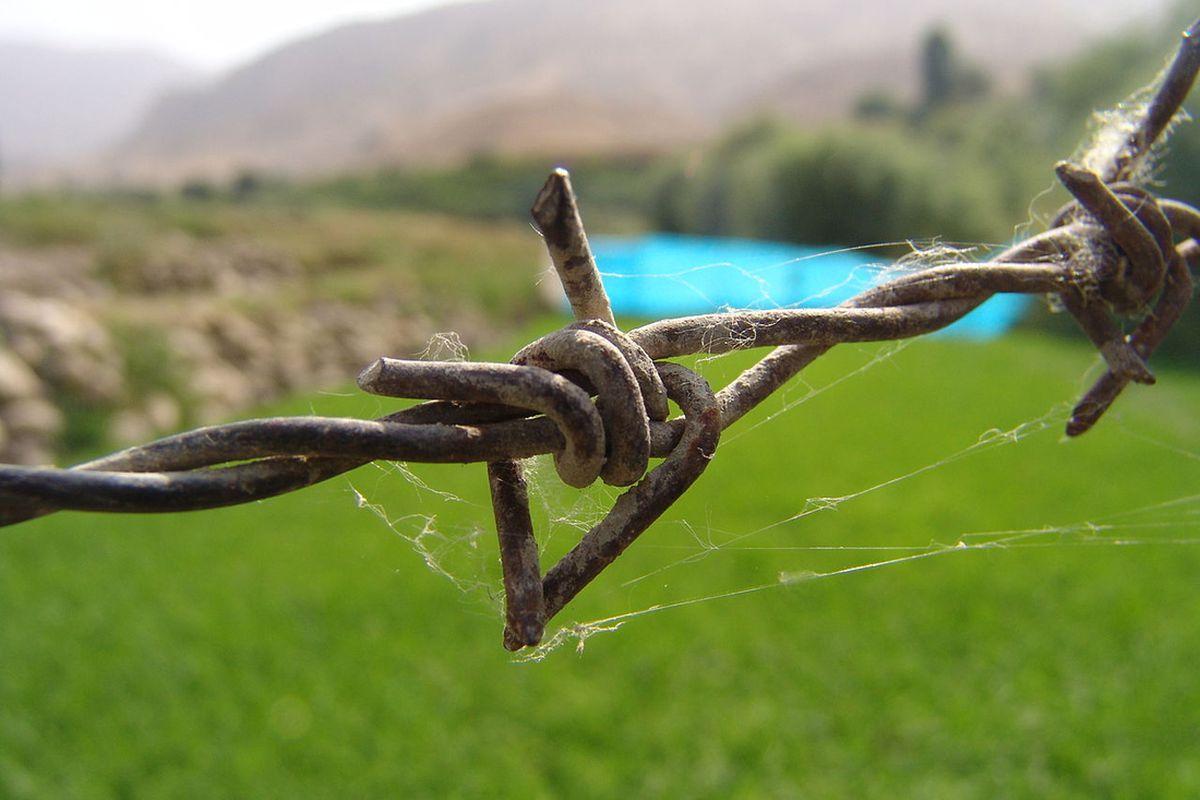 Barbed wire (Wikipedia)