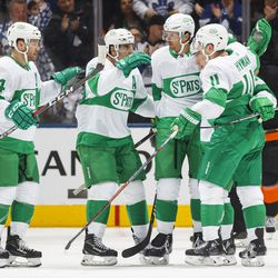 """The """"good """" St. Pats jerseys had weird numbers, a silly logo, and were white. All hits against them."""