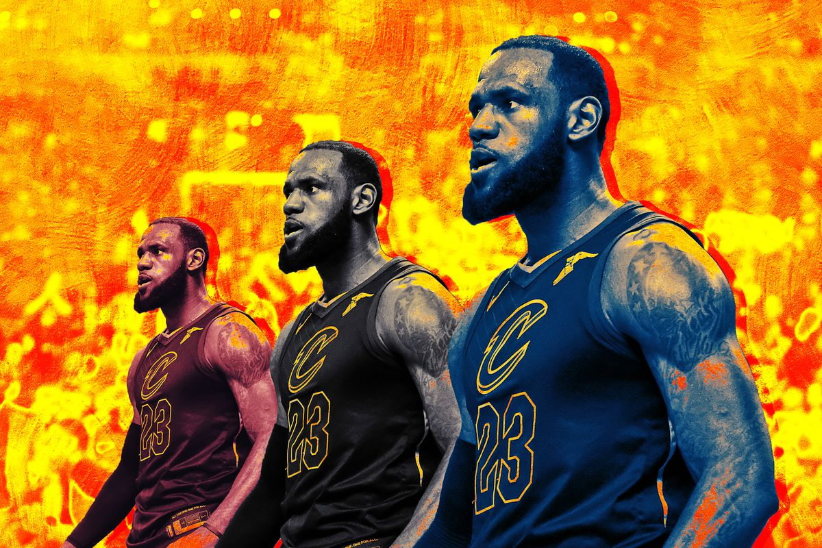 2d589a01ae2 LeBron James Can Reach the Finals With Any Supporting Cast - The Ringer