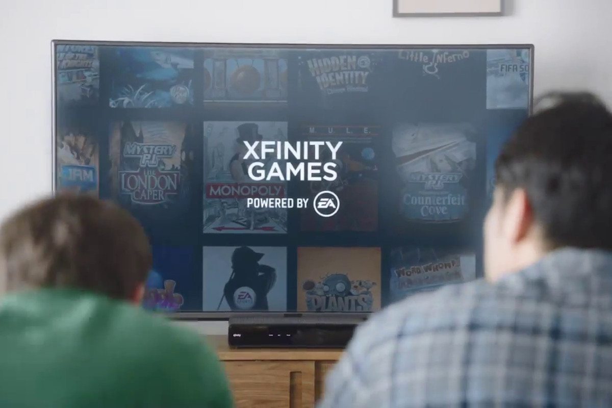 Comcast and EA partner for Xfinity Games, casual gaming beta