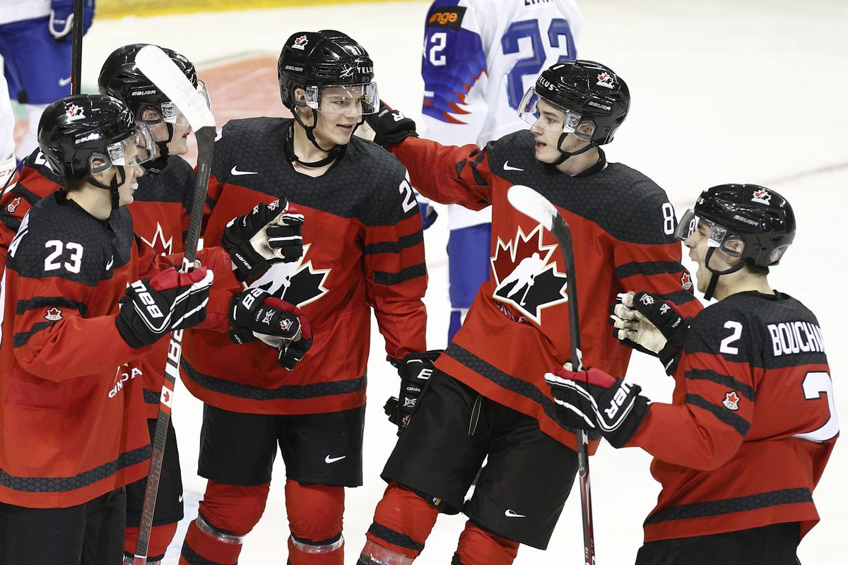 2019 World Juniors Qf2 Canada Vs Finland Lineups Start Time Eyes On The Prize