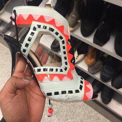 Charlotte Olympia heels, $261