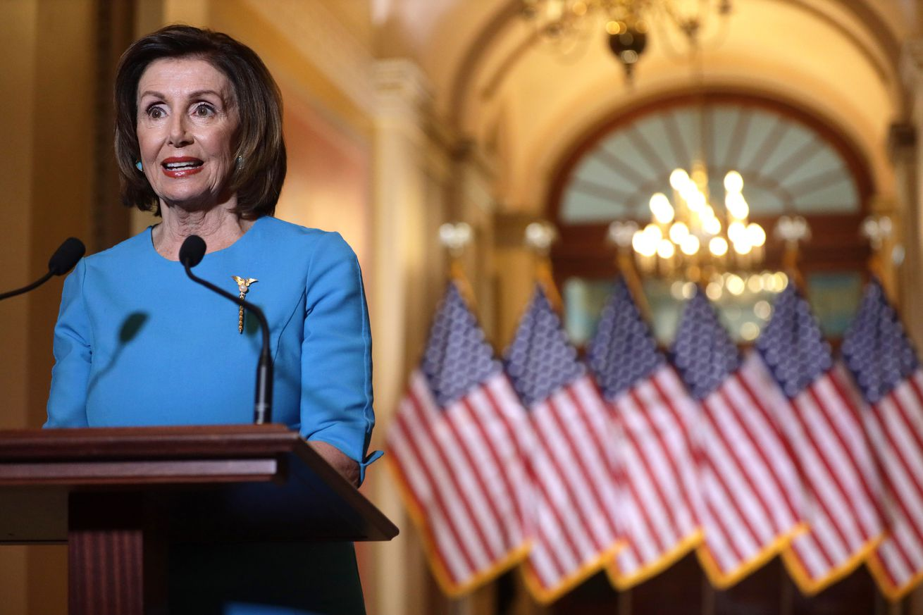 House Speaker Pelosi Makes A Statement On Families First Coronavirus Response Act