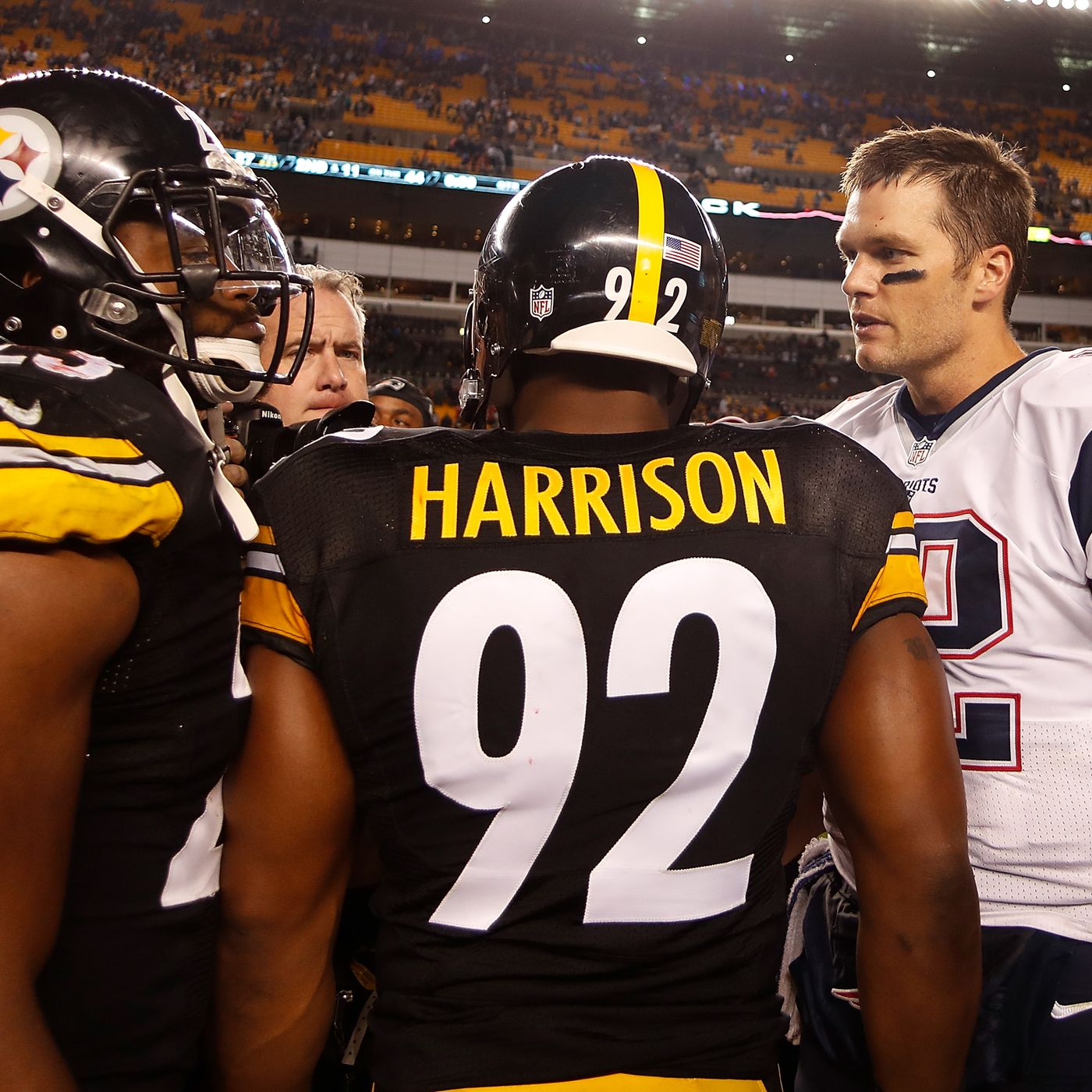 timeless design 6a94b 3fd0c Patriots sign James Harrison to bolster the team's pass rush ...