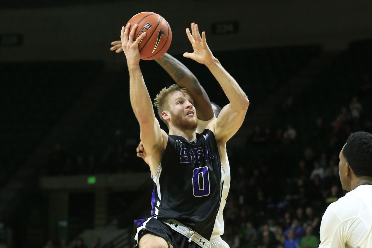 To slow down SFA's Thomas Walkup, apply repeated blows to head and upper body.