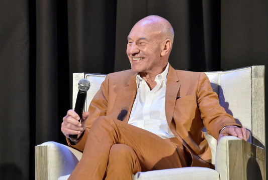 Sir Patrick Stewart signed on as Oxford Cannabinoid Technologies' patron and will join the company's advisory board. | Eugene Gologursky/Getty Images