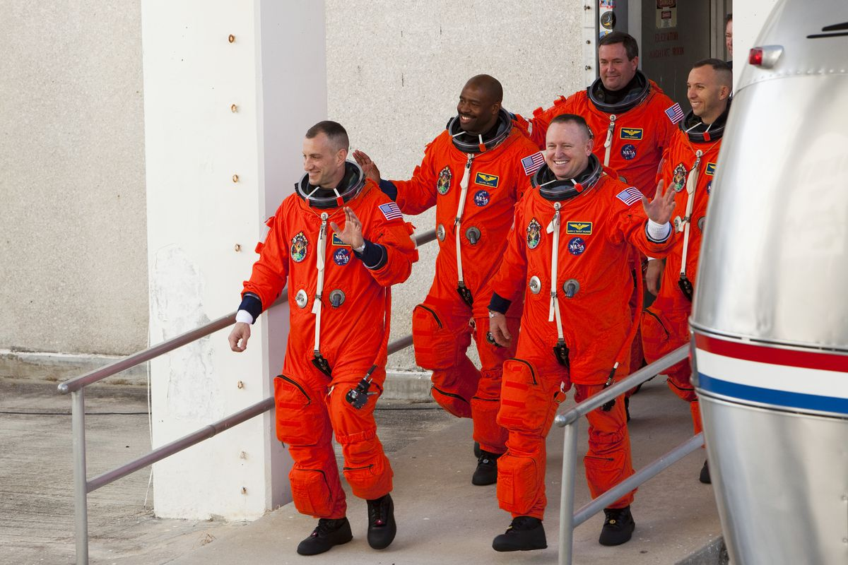NASA Prepares For Launch Of Space Shuttle Atlantis