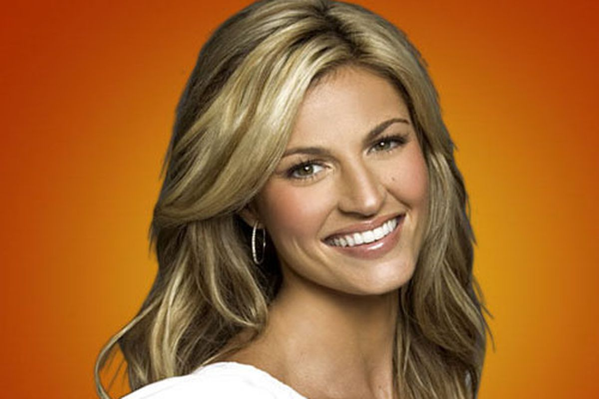 Erin Andrews didn't make our top 10, but we still wanted to show her picture.