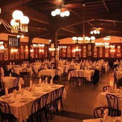 """From <a href=""""http://www.antoines.com/diningrooms1.html"""">Antoine's Website</a>: The vast, glistening main dining room is located just past the first dining room at the entrance, and is named the Large Annex"""