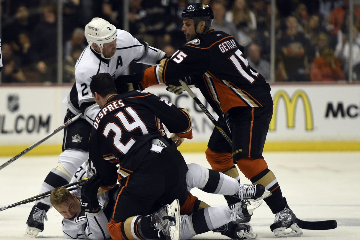 Though not hard done by the NHL schedule makers, the Ducks will have to fight several built in advantages.