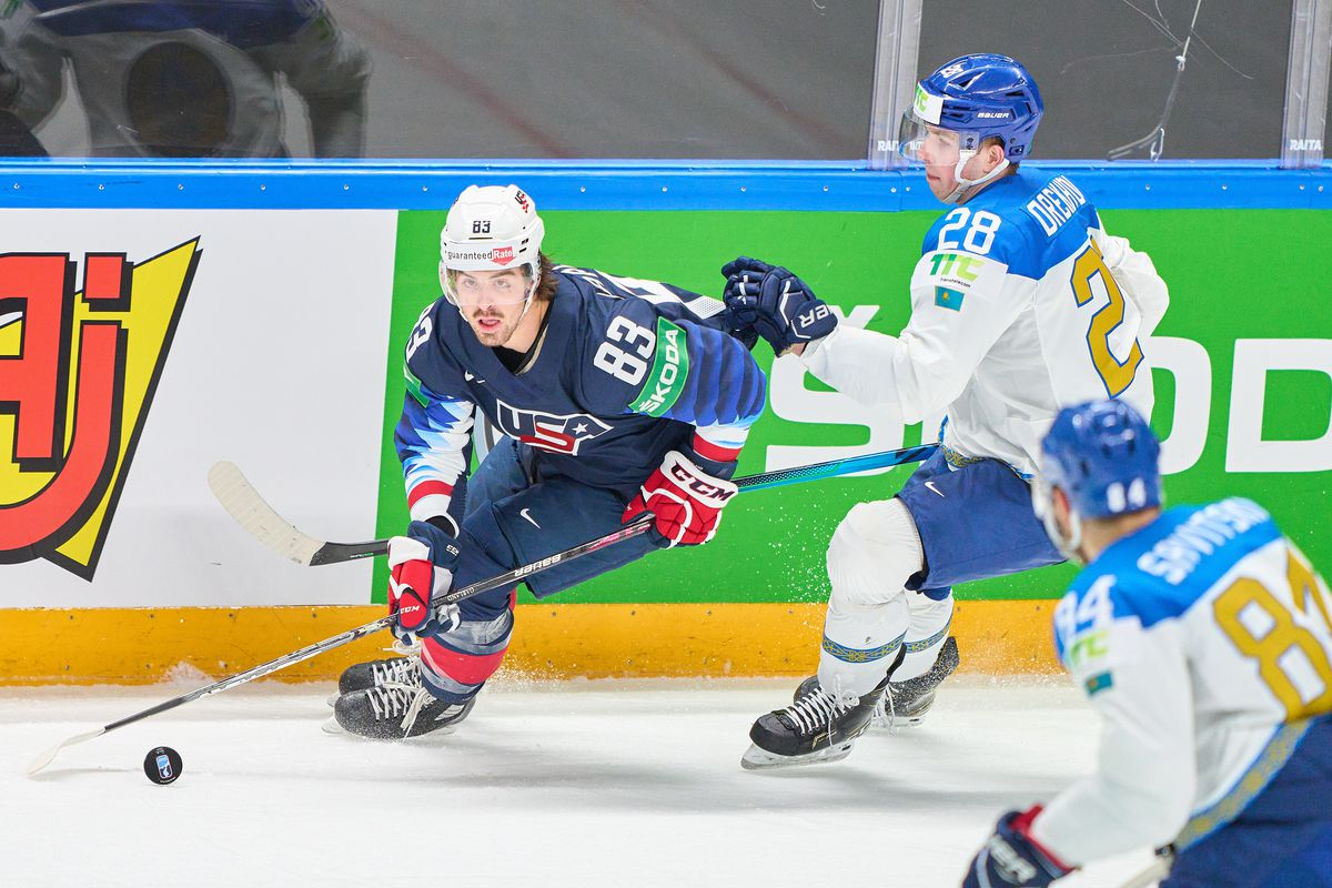 United States v Kazakhstan: Group B - 2021 IIHF Ice Hockey World Championship