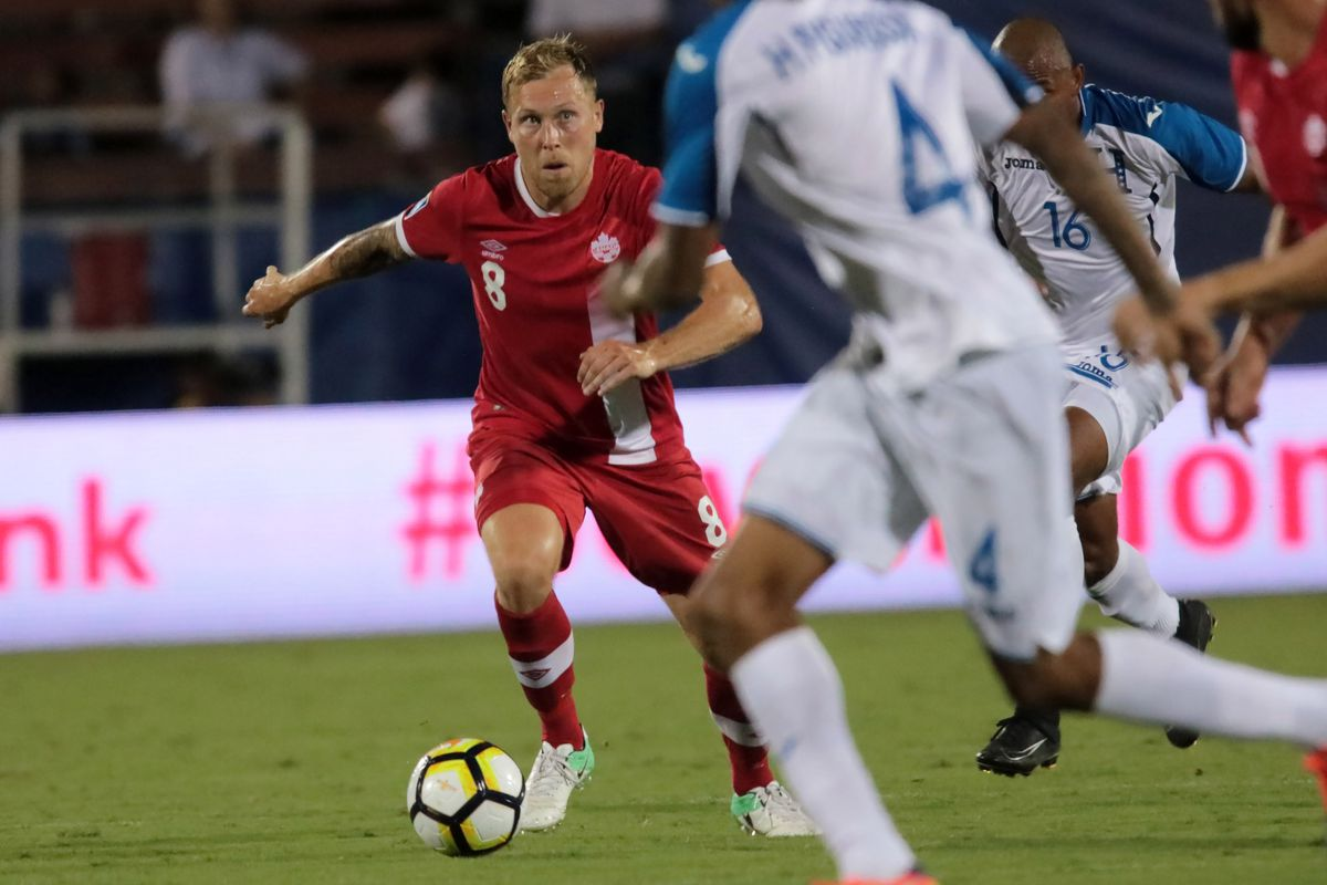 Soccer: 2017 CONCACAF Gold Cup-Canada at Honduras
