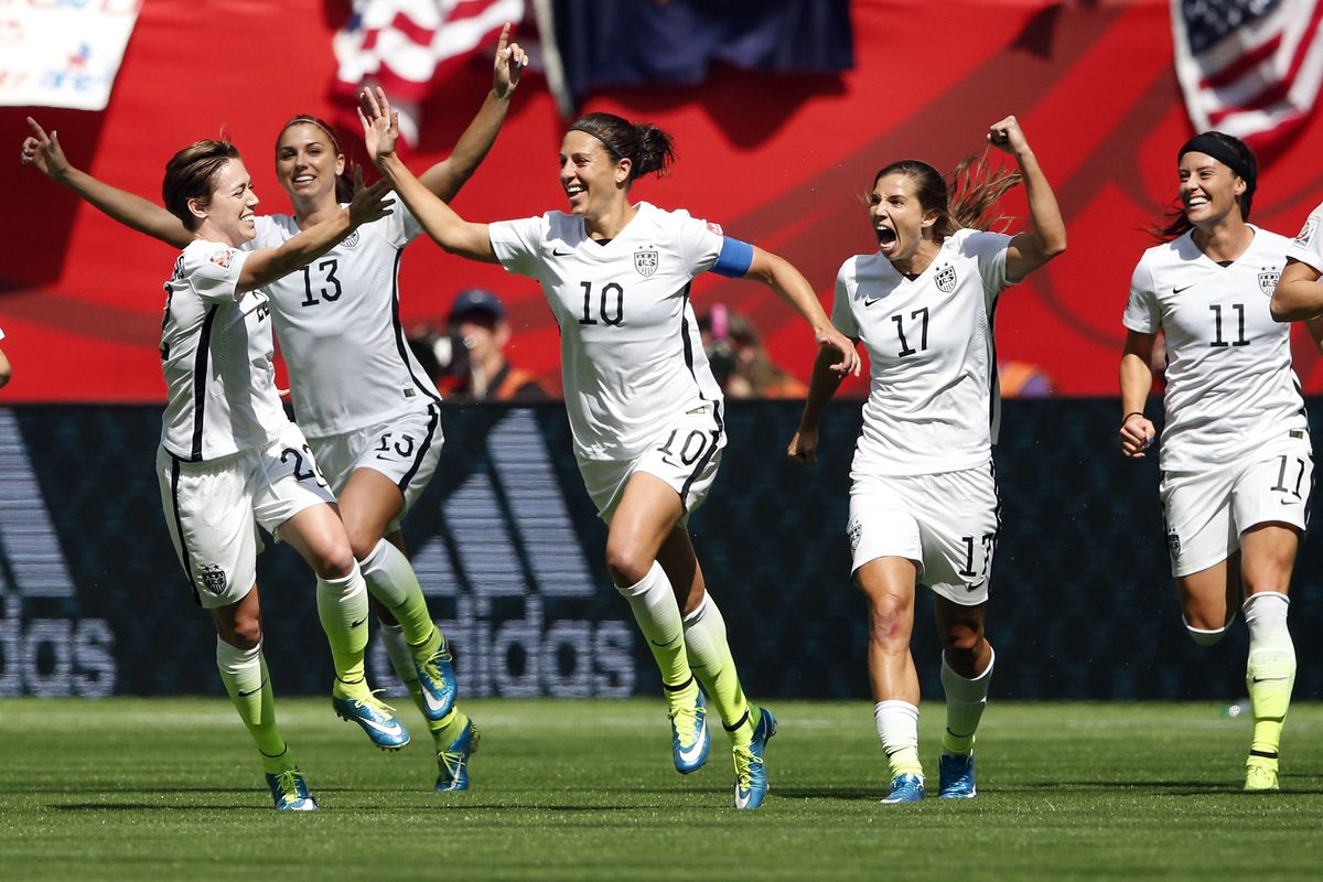 22219870b3e USWNT wins the World Cup with 5-2 victory over Japan - SBNation.com