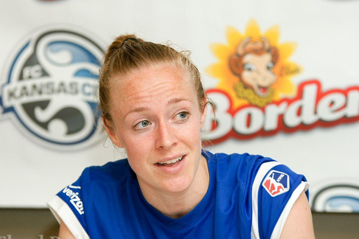 FC Kansas City's Becky Sauerbrunn is also the US Co-Captain