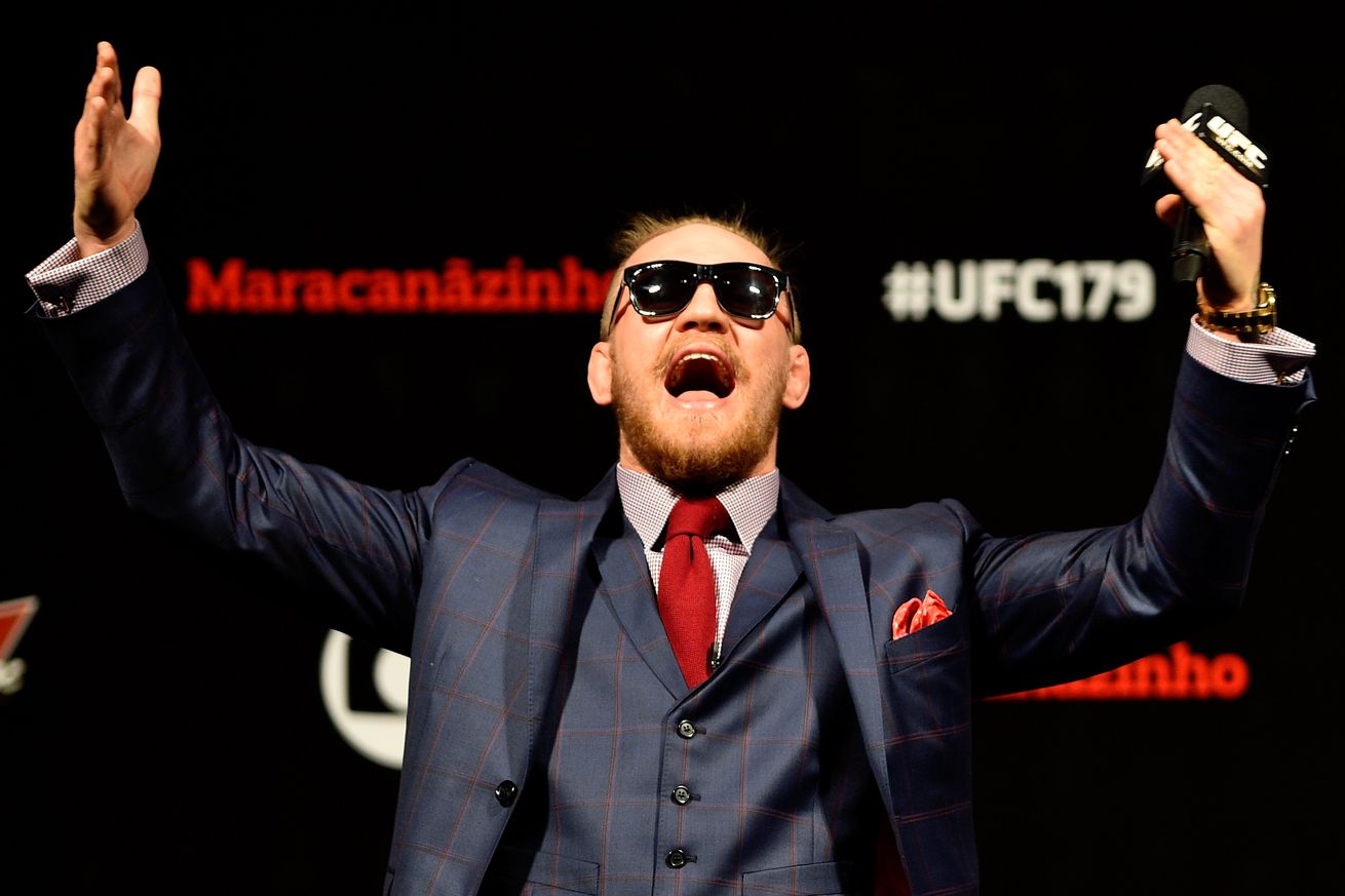 Conor McGregor nominated for 2017 ESPY award because he's from Ireland