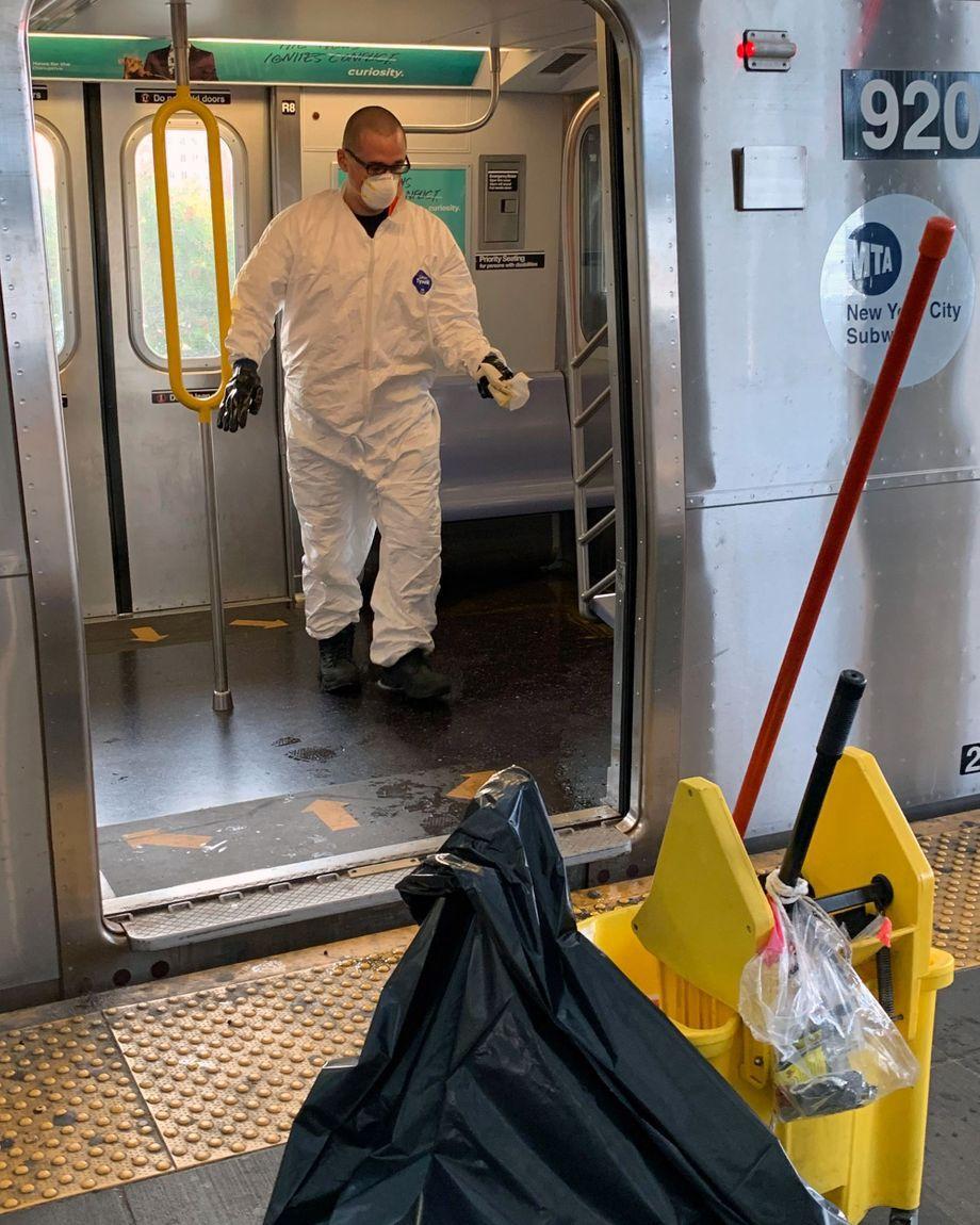 Soiled Subway Car