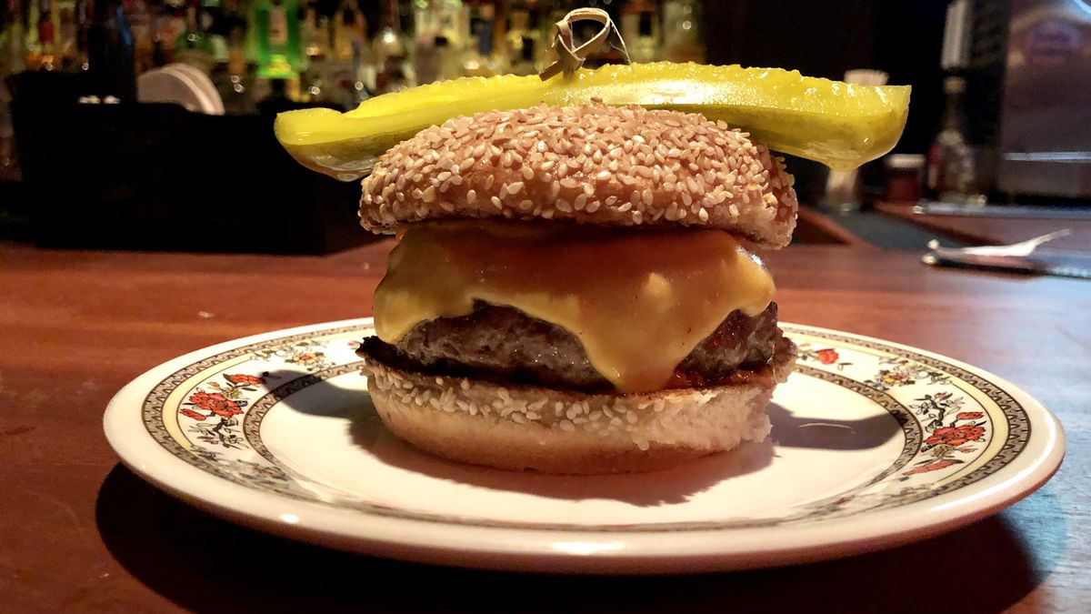 Review of Korean Dishes and Burgers at Black Emperor Bar in
