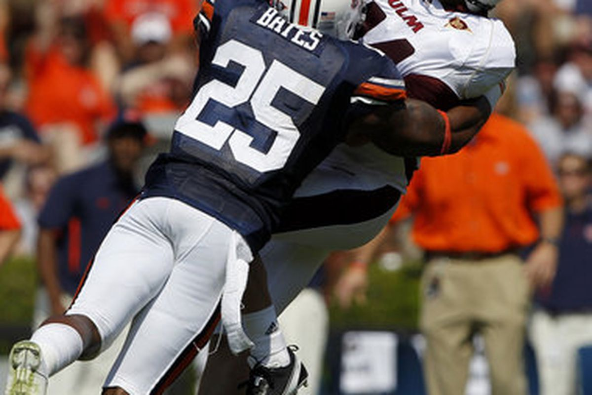 Auburn junior Linebacker Darren Bates will be one of the leaders for a young Tiger Defense in 2011.