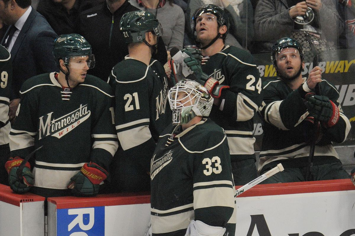 Just a few games shy of the half-way point of the season, the Minnesota Wild are literally looking up the Western Conference standings.