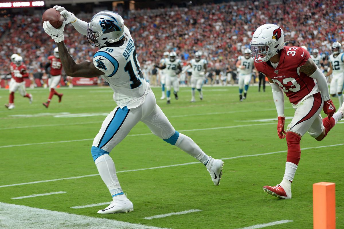 Carolina Panthers WR Curtis Samuel is officially breaking out - Cat Scratch  Reader
