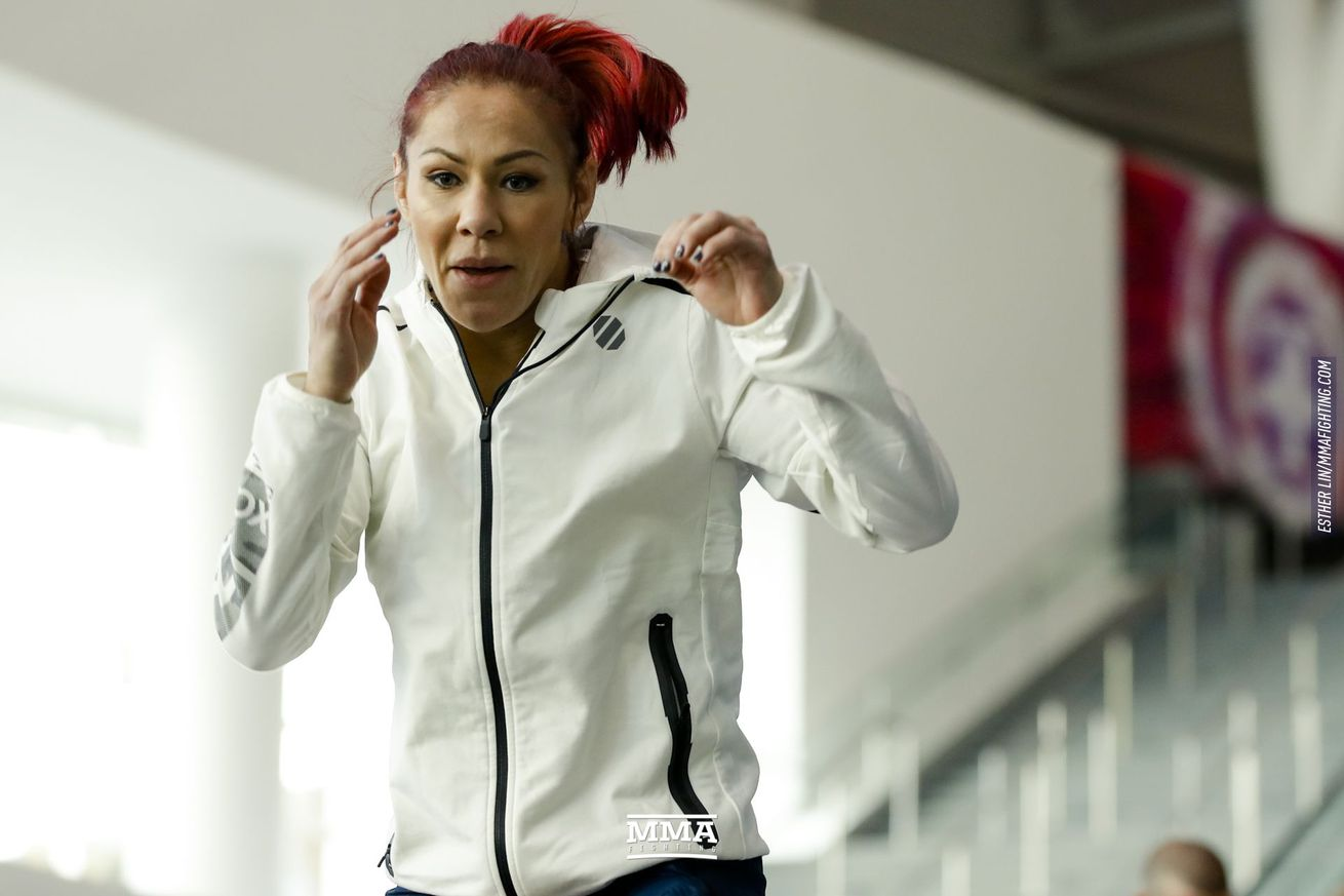 Cris Cyborg is open to fighting at UFC Sao Paulo and coming back to face Amanda Nunes in December.