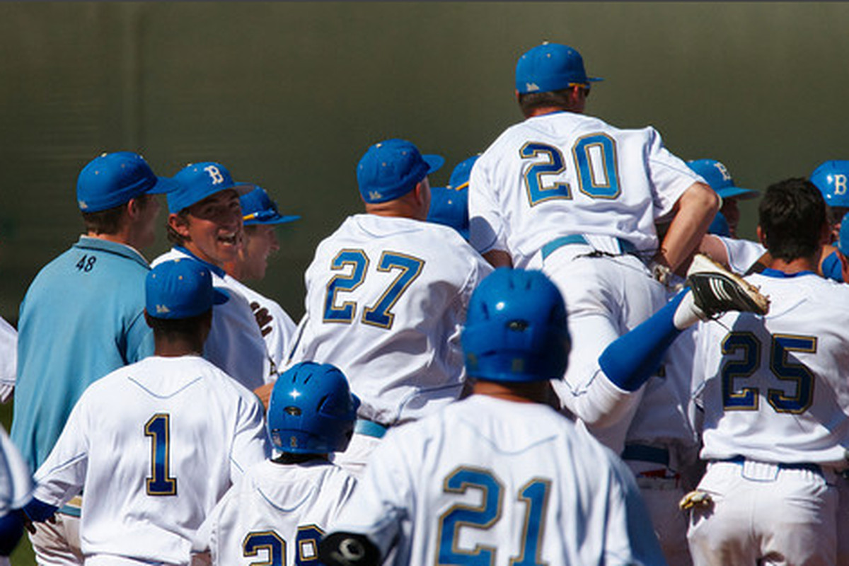 """This weekend is a chance for UCLA to make a major statement with Oregon St. in town (Photo Credit: <a href=""""http://www.scottwuphotography.com/Sports/UCLA-Sports/110403UCLABaseballvWA/16467722_7dHpi#1239145029_k6GBf"""" target=""""new"""">Scott Wu</a>)"""