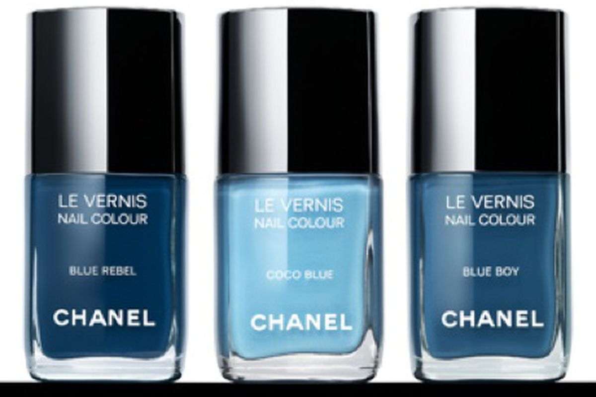 Chanel\'s Denim-Inspired Nail Polish Range Launches in September - Racked