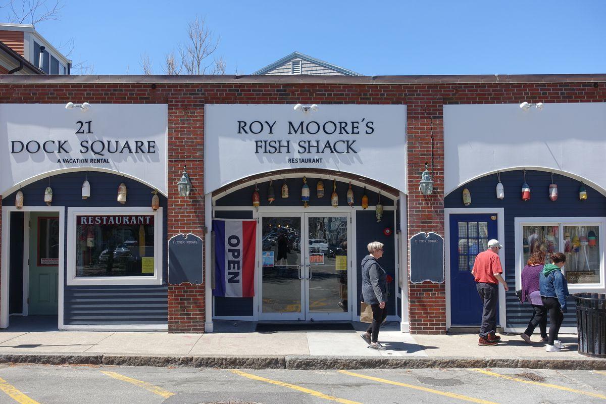 roy moore's fish shack rockport