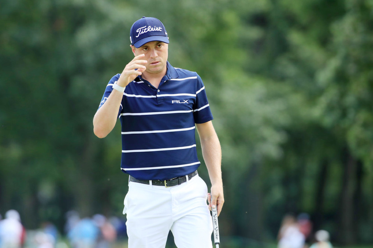 Justin Thomas, Jason Kokrak share lead after first round ...