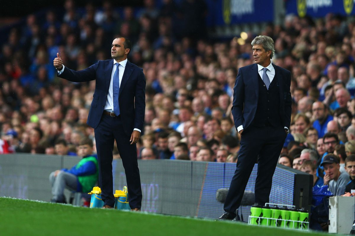 Roberto Martinez tried to outwit Manuel Pellegrini, but City just had too much talent to overcome.
