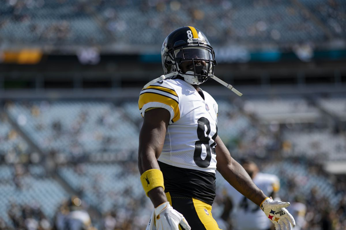 9f817f98847 Steelers News  Antonio Brown takes the high road when asked about Ben  Roethlisberger s criticism