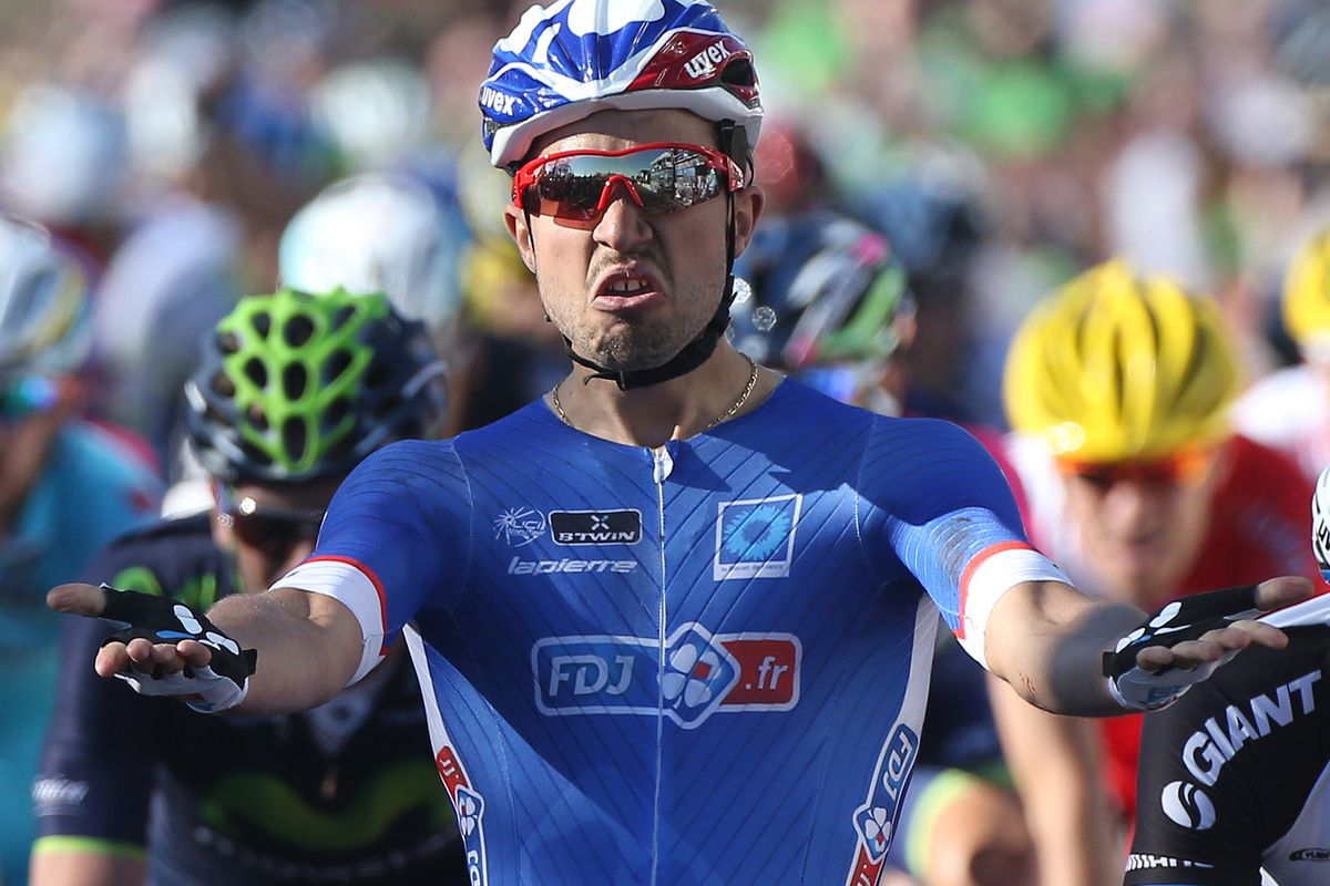 Nacer Bouhanni, in France but looking very Imperial anyway