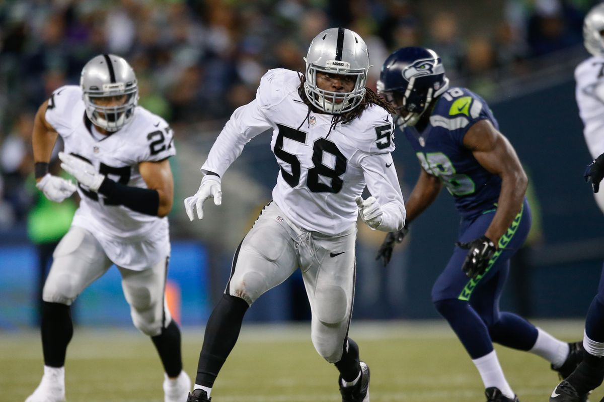 Former Raiders LB Neiron Ball Fights For His Life After