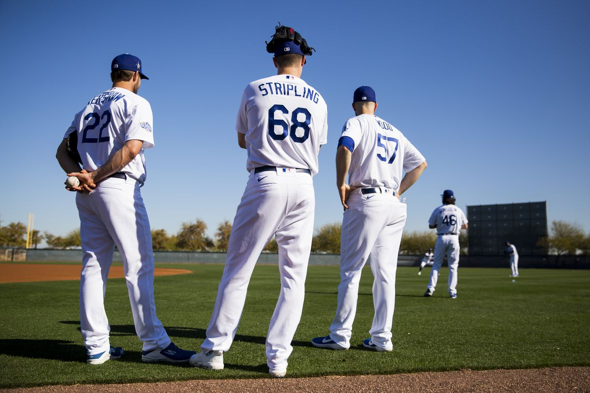 2020 Los Angeles Dodgers Photo Day