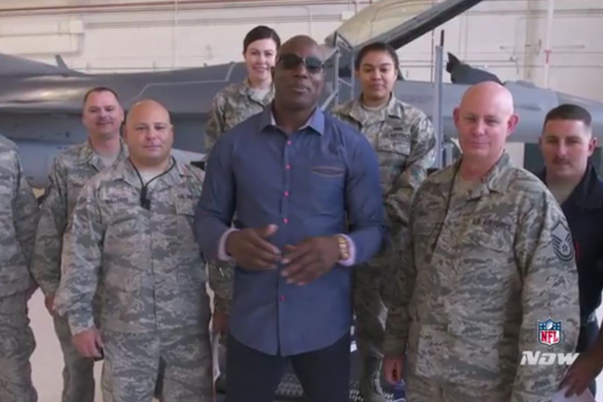 19de227ad The Denver Broncos Nominate DeMarcus Ware for the 6th Annual Salute to  Service Award. Presented by USAA