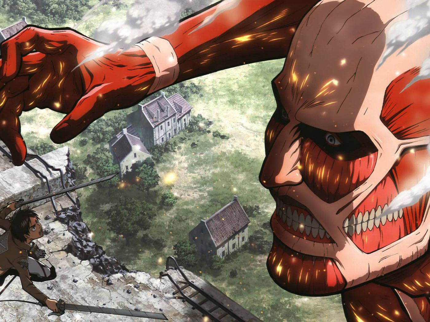 Attack On Titan S Second Season S Ending Credits Are Being Called Out For Spoilers Polygon