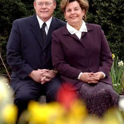 """Elder Gerald N. Lund and his wife, Lynn. Elder Lund, an emeritus member of the Second Quorum of the Seventy, recently wrote """"Look Up, My Soul: The Divine Promise of Hope."""""""