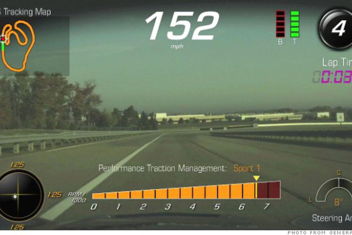 Chevrolet Corvette Stingray >> Chevrolet integrating a game-style HUD in the Corvette Stingray in Q3 2014 - Polygon