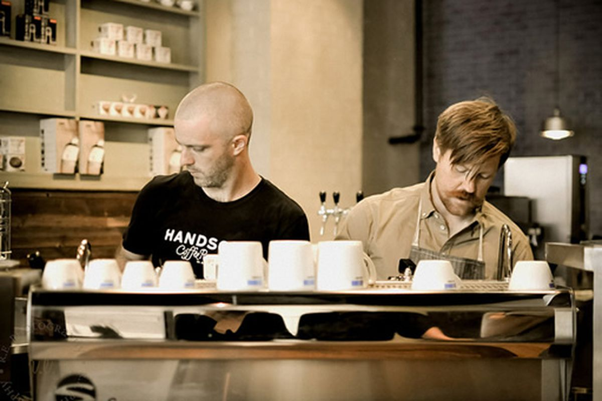 Handsome Coffee Roasters at CoffeeBar, Downtown Los Angeles