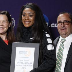 2018 WBCA All-American Victoria Vivians (Mississippi State)